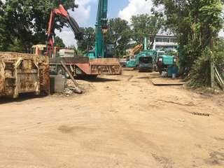 Open yard for rent @ Sungai Kadut