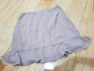 purple/grey davie skirt size 10