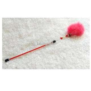 [Ready Stock] TW111 Short Stick Furball Cat Teaser Wand