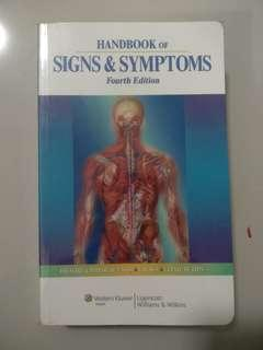 Handbook of signs and symptoms 4th edition