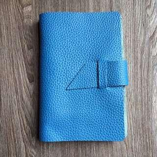 📘📘📘 [INSTOCKS] Genuine Leather 🔵Azure Blue🔵 Midori Styled A6 Planner, Journal