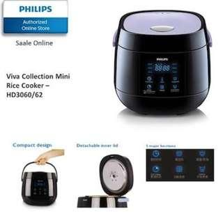 Philips Viva Collection 0.7L Rice Cooker HD3060