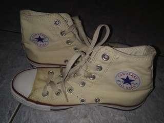 Converse All Star Chuck Taylor Cream High Top ORI