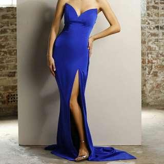 (For Rent) Jadore cobalt blue gown