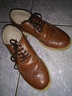 Adorable Project Oxford Shoes Brown/Tan