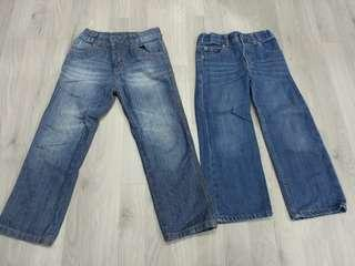 PRELOVED AUTHENTIC MOTHERCARE & CARTER'S BOY'S JEANS @ $10 FOR BOTH PAIRS ONLY!!!