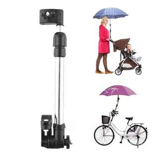 Umbrella holder for baby stroller with free gift
