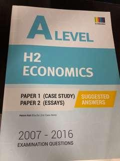 2007-2016 A level H2 Economics