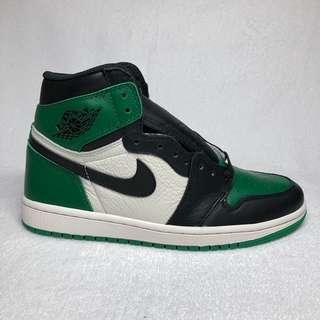 US 8 / UK 7 AJ1 Pine Green