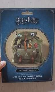 Harry Potter iron-on patches
