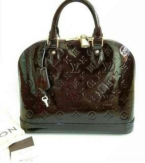 Jual Tas Louis Vuitton Alma PM Original Second Preloved Bekas Authentic LV Bag
