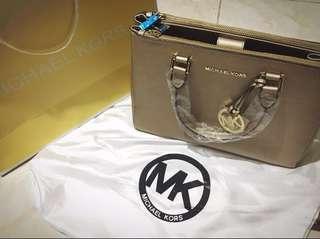 Michael kors Gold sutton tote bag