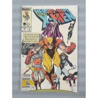 Heroes for Hope #1 - Starring The X-Men