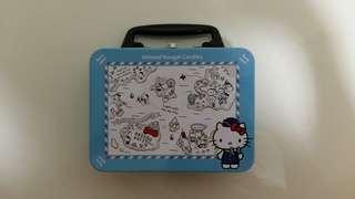Hello Kitty Metal Tin Container Sanrio Item