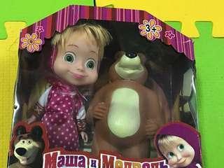 🚚 瑪莎與熊