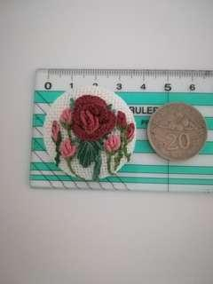 Embroidery brooch code#EP113W3.5F