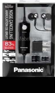 Panasonic RPHC31 (RP-HC31) Noise cancelling Earphones