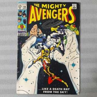 Avengers #64 - First Appearance & Death of Barney Barton