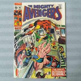 Avengers #66 - First Appearance of Ultron-6 & First Mention of Adamantium