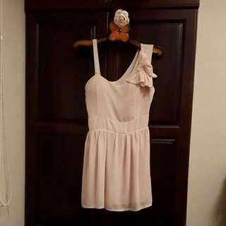 🚚 全新桃粉色小洋裝