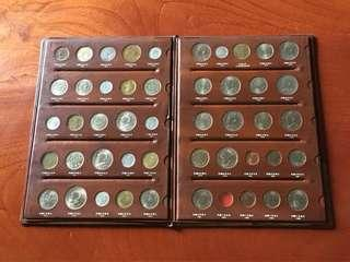 🚚 台灣38~71年硬幣全册