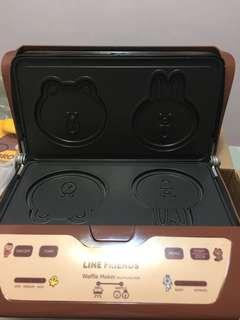 100% NEW Line Friends waffle 機