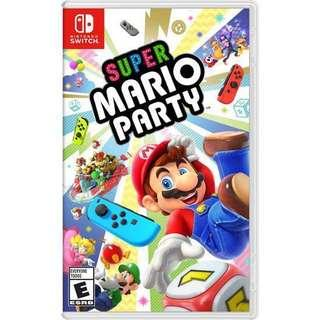 Super mario party games