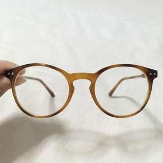 H&M camel tortoise shell glasses