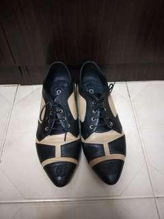 Chanel Oxford Loafers 39.5