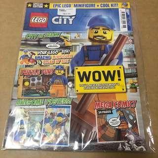 Lego City Magazine Issue 9 (7 Nov - 4 Dec 2018)