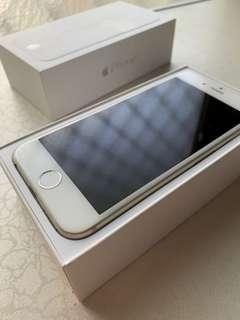 🚚 iPhone6 銀 64G ios9 全包膜無傷