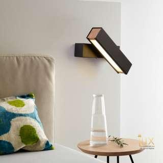 🚚 Scandinavian - 270° Rotatable LED Wall Lamp