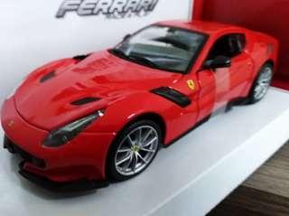 Bburago Ferrari F12 TDF [RED] Scale 1/24