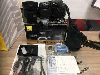 🚚 Nikon D5100+18-55mmVRII+35mm