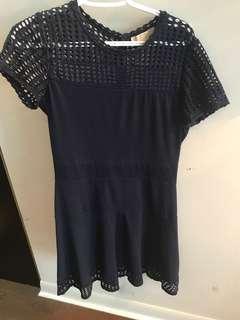 Large Michael Kors navy dress, like new