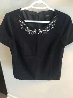 Jcrew women's 0 blouse
