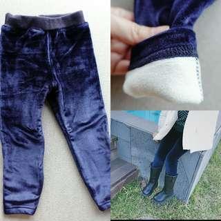 內搭加絨褲(藍色)