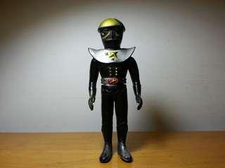 70年代日本 Popy 廠出品 : 電腦黑魔 搪膠公仔 約13cm高