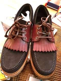 Brand New BN LV men suede shoes