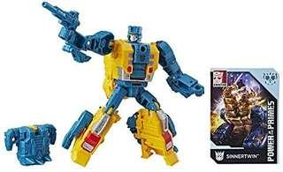[Brand New] Transformers Power of the Primes - Deluxe Class Terrorcon Sinnertwin