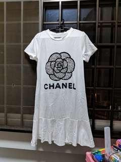🚚 BN White Dress
