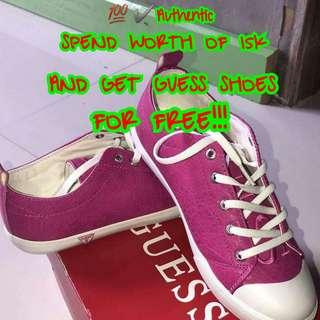 GET FREE GUESS SHOES💯✔Authentic
