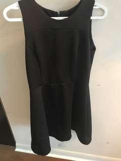 Simple size small a line scuba dress