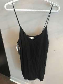 Tags on Wilfred free black tank dress size small