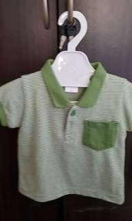 Baby polo shirt and short