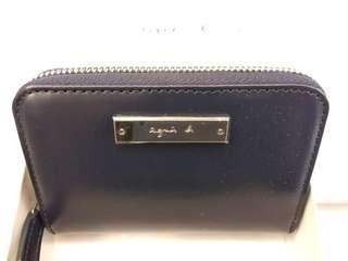 Aguis b purse 全新蓝色匙包錢包