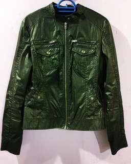 Mango MNG Biker Leather Jacket