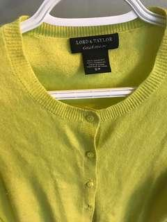 Lord and Taylor small cashmere sweater