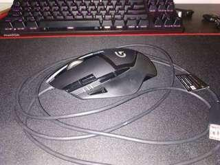 Logitech G402 Hyperion Fury Gaming Mouse (USED) #XMAS50