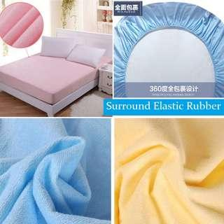 SINGLE QUEEN KING Waterproof Bedsheet Mattress Protector